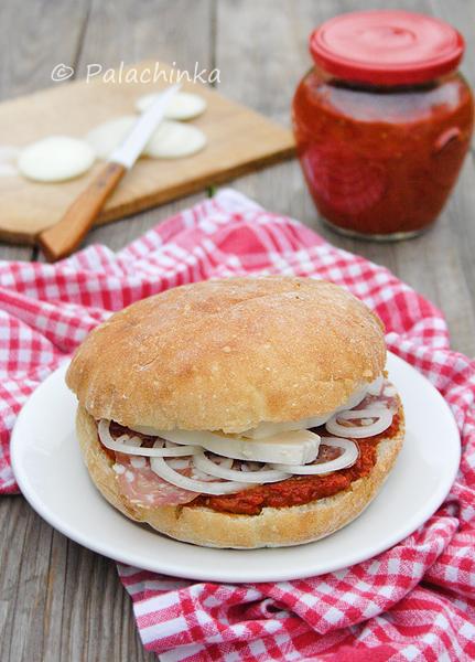 Serbian Sandwich