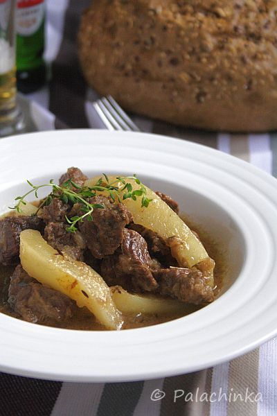 Beef Stew with Pears