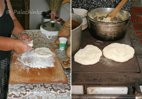Binetov hleb, priprema