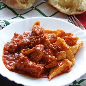 Istrian Chicken Goulash