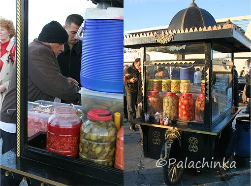 Pickles Drink Street Seller