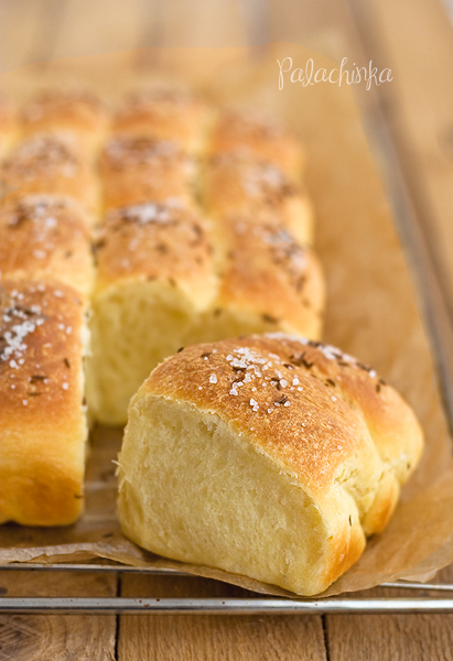 Caraway Parker House Rolls