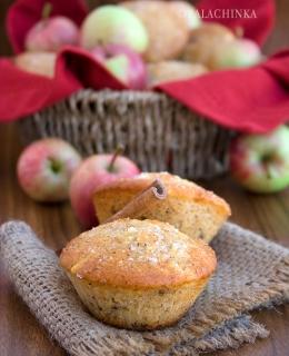 Apple ans Raisins Muffins
