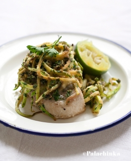 Tuna with Capers and Zucchini