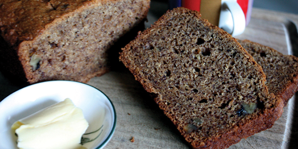 Sharing the Food We Love: Yvette's Gluten Free, Low Allergy Banana & Walnut Bread