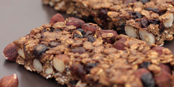 Allotment 2 Kitchen: Whole Hazelnut and Molasses Oat Bars
