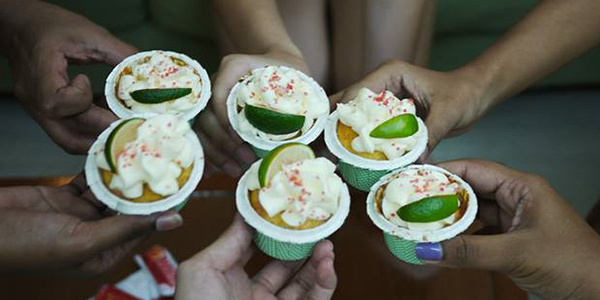 Confessions Of A Cookaholic: Margarita Cupcakes with Tequila Lime Buttercream Frosting