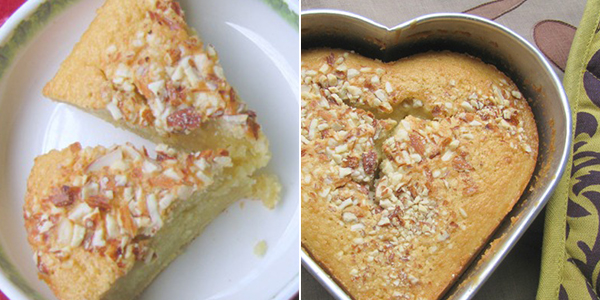 Kitchen Gossip....: Almond Banana Cake