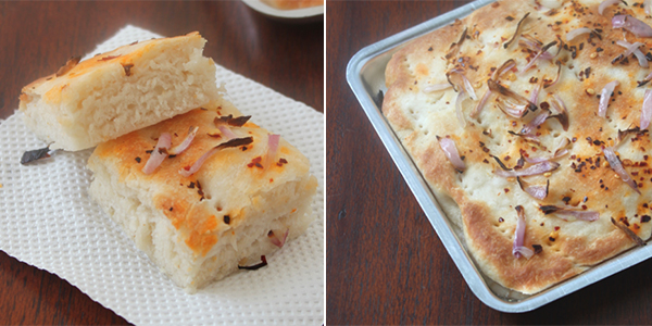 Jaya's recipes: Foccacia