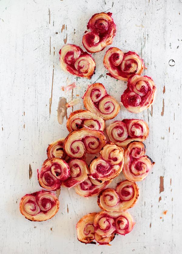 Raspberry Palmiers