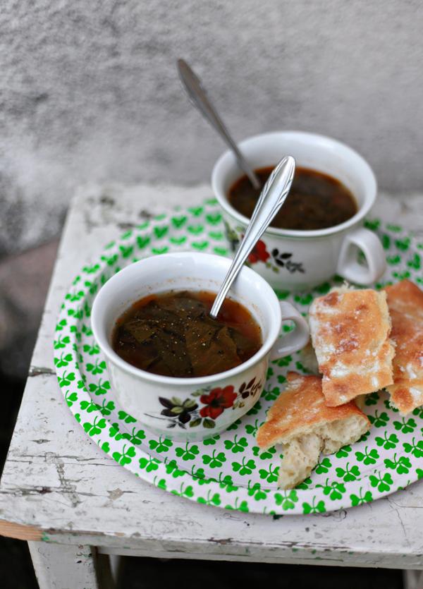 Young Sorrel Soup